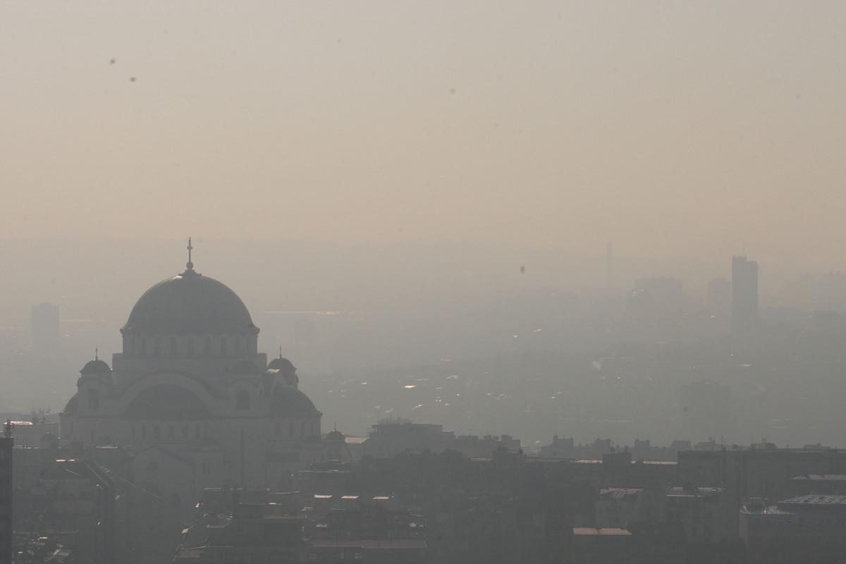 zagadjenje vazduha u Beogradu